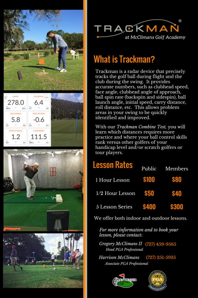 Trackman Flyer Clearwater CC 2